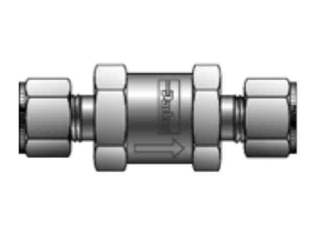 8A-C8L-5-BN-SS Check Valve - Inline - C
