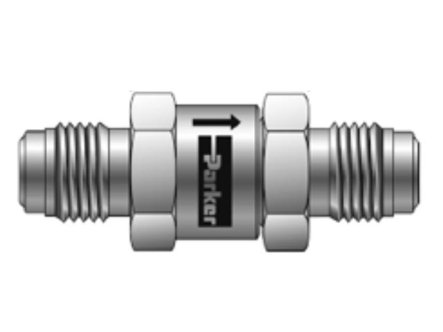 6A-CO6L-1-EPR-SS Check Valve - Inline - CO