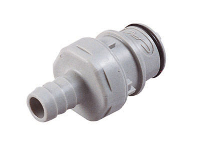 HFC22612 CPC Colder Products HFC22612 3/8 Hose Barb Non-Valved In-Line Coupling Insert