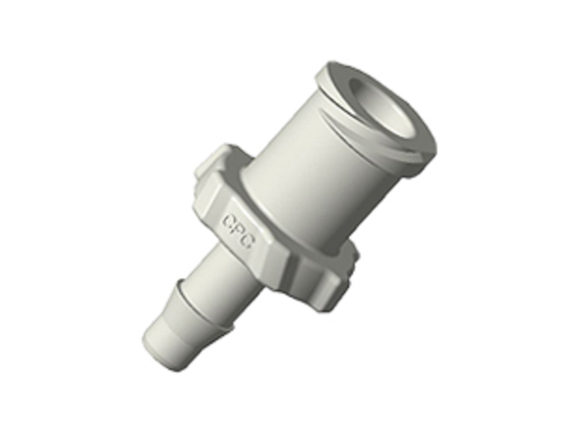 ALF41 CPC Colder Products ALF41 Luer A-Barb Fitting 1/8 HB X Female Luer Natural Polypropylene