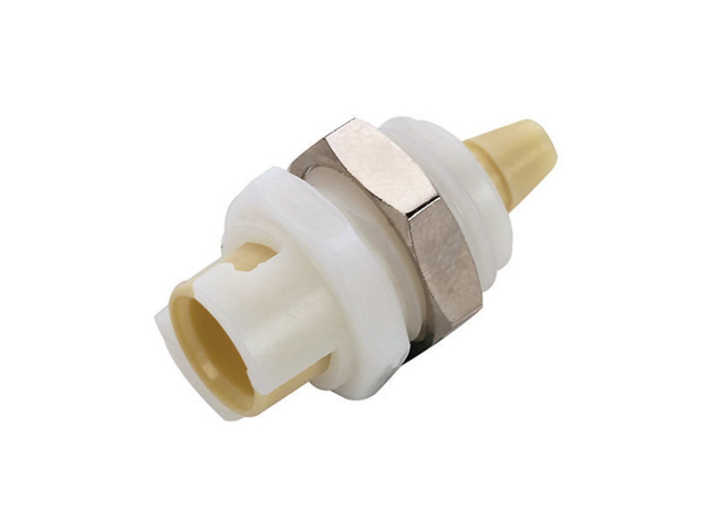 SMFPM0212 CPC Colder Products SMFPM0212 1/8 Hose Barb Non-Valved Panel Mount Coupling Body
