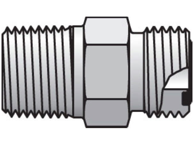 4-4 FLO-S Seal-Lok ORFS Straight FLO