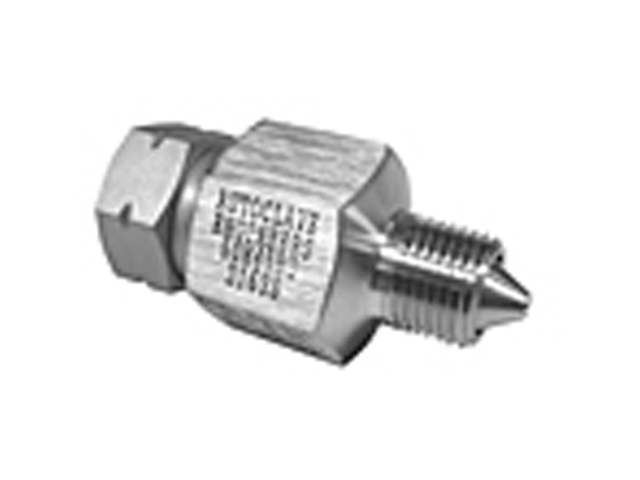10M129NQ Autoclave Engineers QS Series - Male / Female Adapter - National Pipe Thread (NPT) to QSS