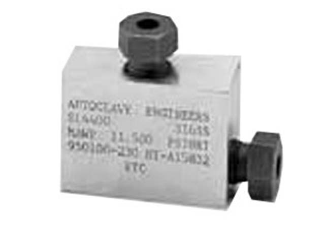 Autoclave Engineers Medium Pressure Elbow Fitting - QS