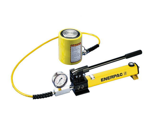 SCL-101H Enerpac SCL-101H Cylinder and Hand Pump Set Single Acting 10 Ton Steel Series SC