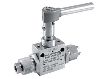 2B4S20H4-EO3 Autoclave Engineers 2-Way Ball Valve - 2B4