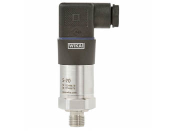 52556573 Wika 52556573 General Purpose Pressure Transmitter Model S-20 0-5 V, 3-wire 1/4 NPT Male X Cable Outlet Stainless Steel