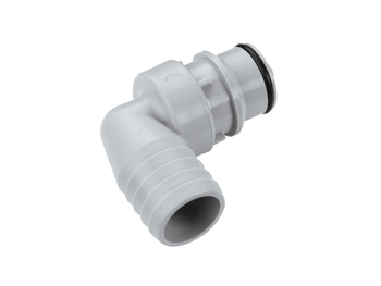 """3//4/"""" Hose Barb CPC Polypropylene Quick Connect Coupling Fitting Grey"""