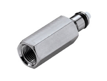 F F 1//8 NPT Colder Pipe Adapter Insert; Valved MCD2602 Metal Quick-Disconnect NPT CPC