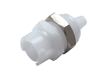 SMFPM02 CPC Colder Products SMFPM02 1/8 Hose Barb Non-Valved Panel Mount Coupling Body
