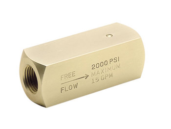 9C400B Colorflow Check Valve - BSPP