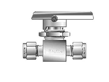 4Z-MB6LPFA-SSP Ball Valve - Two-way - Inline - MB
