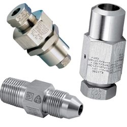 Cone and Thread Instrumentation Adapters and Couplings